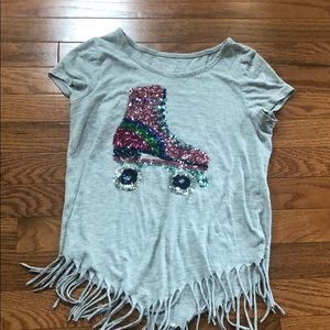 Justice girls sparky shirt